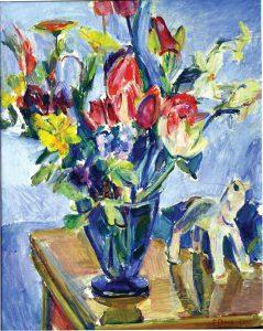 Frans Berg (1892 - 1949) Stilleben, 1924, Olja på duk