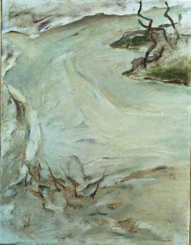 Peggy Nerman Vårsmälta, Olja på duk