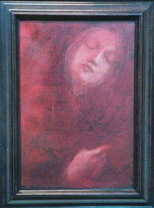 Rose-Marie Qvarfordt Madonna, Olja på duk