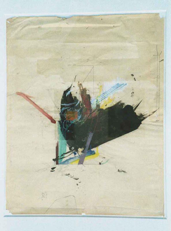 John E Franzén Silverlake, Akvarell på papper