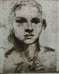 Maria Björklund Ingrid, Etsning