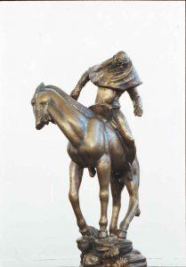 """Carl Milles (1875-1955) Modell till """"Folke Filbyter"""", brons"""