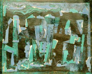 Greta Ehrnberg Mosaik, 1963, Glasmosaik