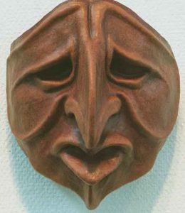 Eva Härstedt (f. 1945) Pantalone Mask