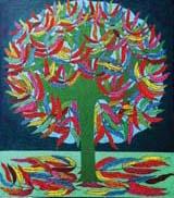 """Jette Stoltz ,""""Träd om hösten"""""""