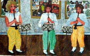 Thelma Aulio Paananen f 1931 Vernissagemusik, 1985