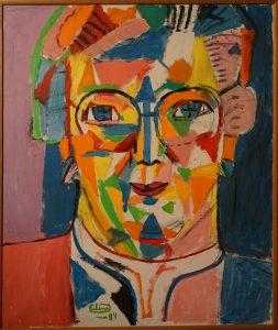 Erling Johansson 1934- Porträtt av Boel Ambolt, 1984 Opd