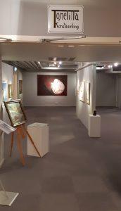 Överblick av utställningen