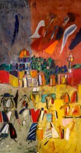 Madeleine Pyk, 1934. Resan till Jerusalem, 1997 Opd